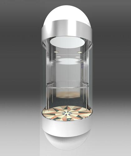 冯克别墅电梯-半圆弧系列