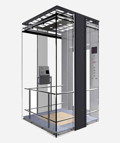 冯克别墅电梯-轿厢装潢系列